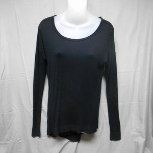 NWOT Express black long sleeve sweater small